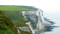 White Cliffs Cliffs Dover Sea Coast Path Away